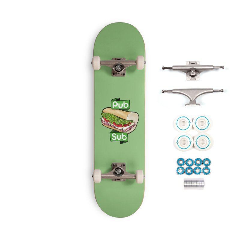Pub Sub Accessories Complete - Basic Skateboard by Justin Peterson