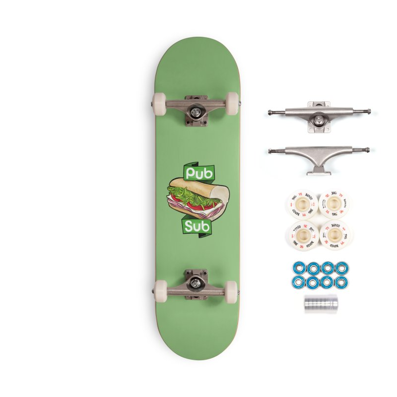 Pub Sub Accessories Complete - Premium Skateboard by Justin Peterson