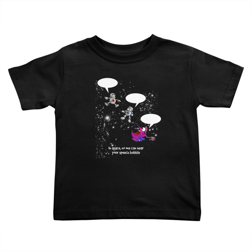 In space, no one can hear you scream Kids Toddler T-Shirt by Justoutsidebox's Artist Shop