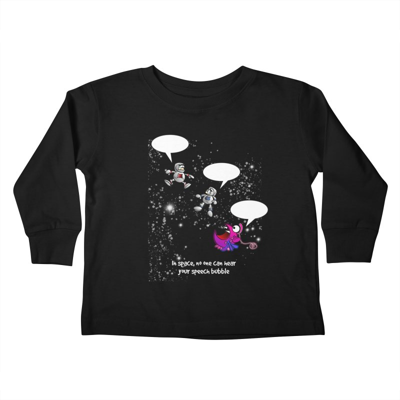 In space, no one can hear you scream Kids Toddler Longsleeve T-Shirt by Justoutsidebox's Artist Shop