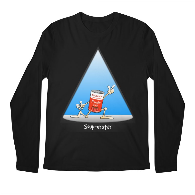 Souper-star Men's Longsleeve T-Shirt by Justoutsidebox's Artist Shop