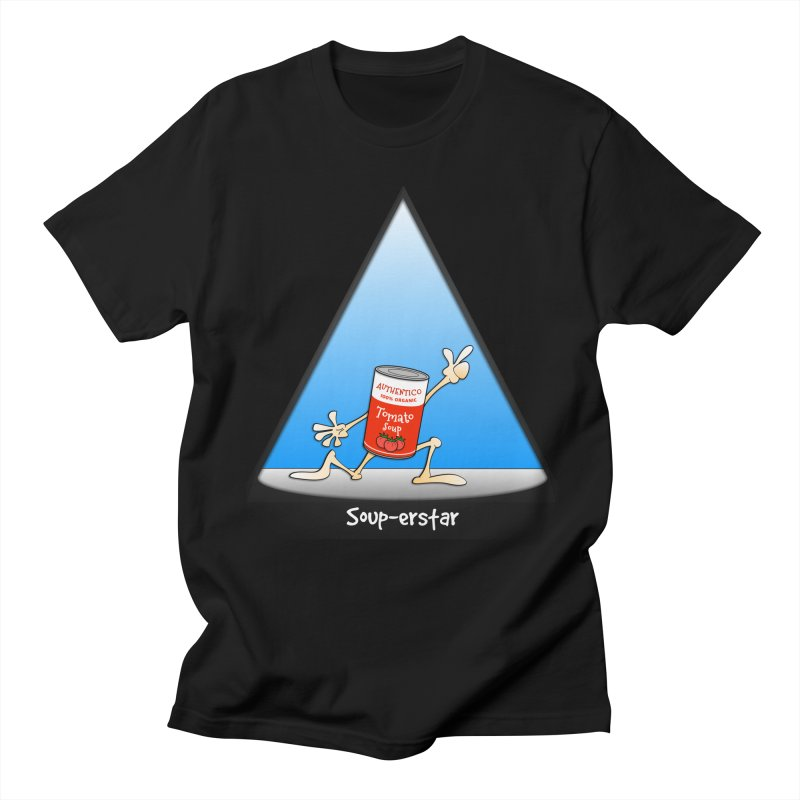 Souper-star Men's T-shirt by Justoutsidebox's Artist Shop