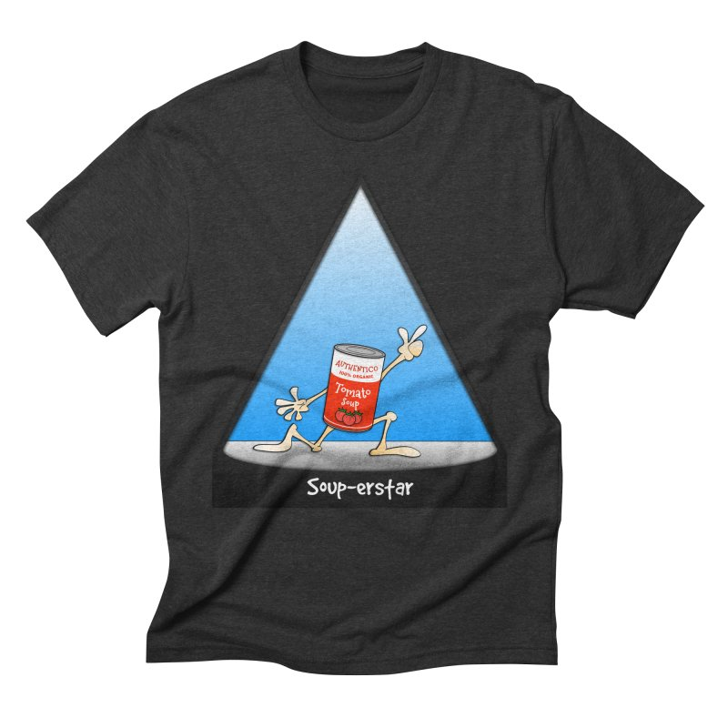 Souper-star Men's Triblend T-Shirt by Justoutsidebox's Artist Shop