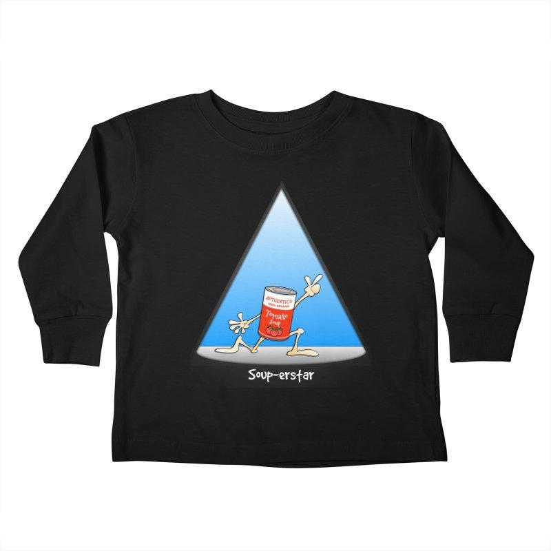 Souper-star Kids Toddler Longsleeve T-Shirt by Justoutsidebox's Artist Shop