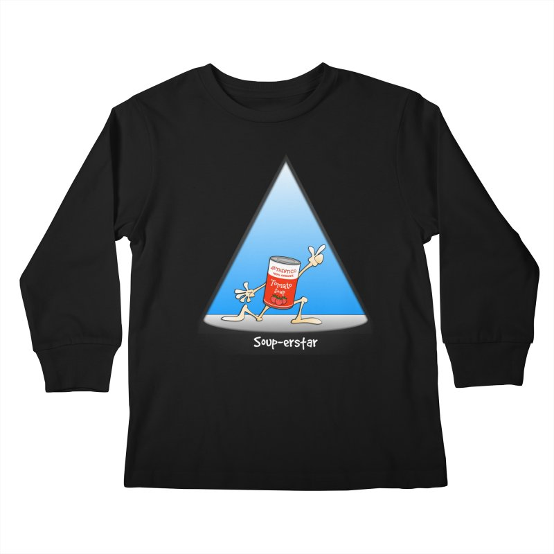 Souper-star Kids Longsleeve T-Shirt by Justoutsidebox's Artist Shop