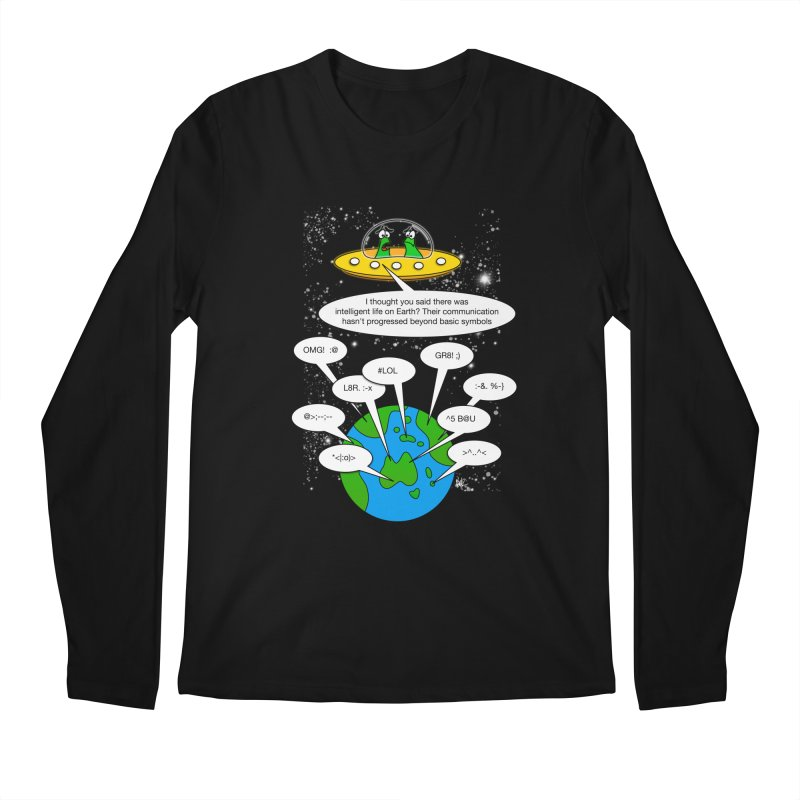 Human intelligence Men's Longsleeve T-Shirt by Justoutsidebox's Artist Shop