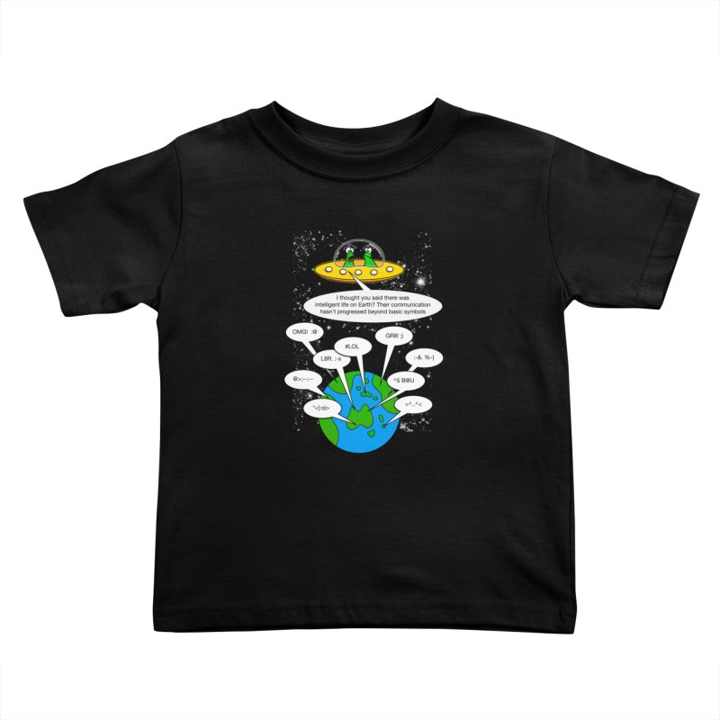 Human intelligence Kids Toddler T-Shirt by Justoutsidebox's Artist Shop