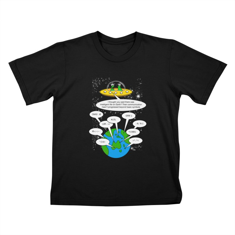 Human intelligence Kids T-shirt by Justoutsidebox's Artist Shop