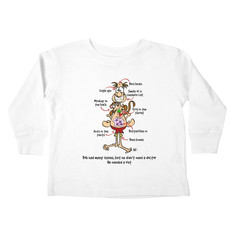 Do you have issues? Kids Toddler Longsleeve T-Shirt by Justoutsidebox's Artist Shop