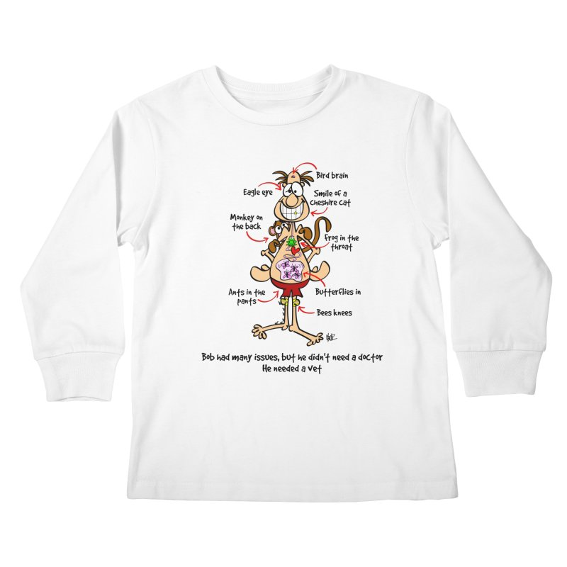 Do you have issues? Kids Longsleeve T-Shirt by Justoutsidebox's Artist Shop