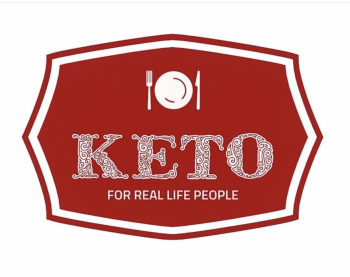 Keto For Real Life People Market Logo