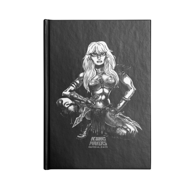 Barbaro Tiger Queen Accessories Notebook by KINGMAKERS's Artist Shop