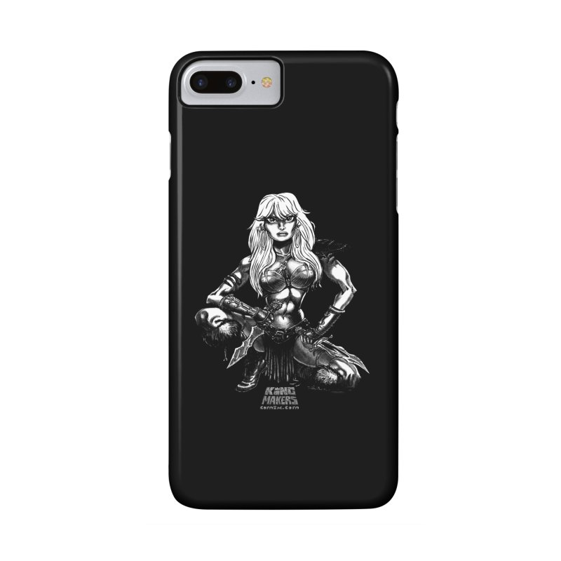 Barbaro Tiger Queen Accessories Phone Case by KINGMAKERS's Artist Shop