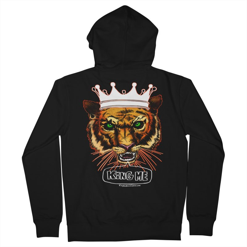 King Me Men's Zip-Up Hoody by KINGMAKERS's Artist Shop