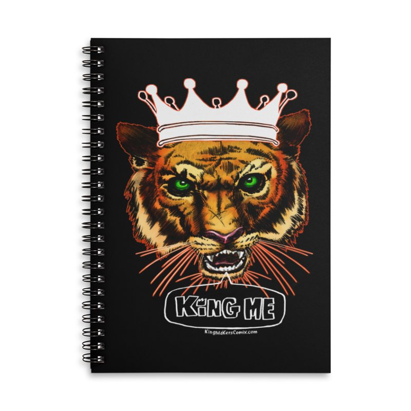King Me Accessories Notebook by KINGMAKERS's Artist Shop