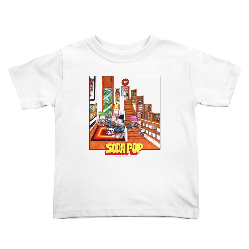 SodaPop Kids Toddler T-Shirt by KINGMAKERS's Artist Shop