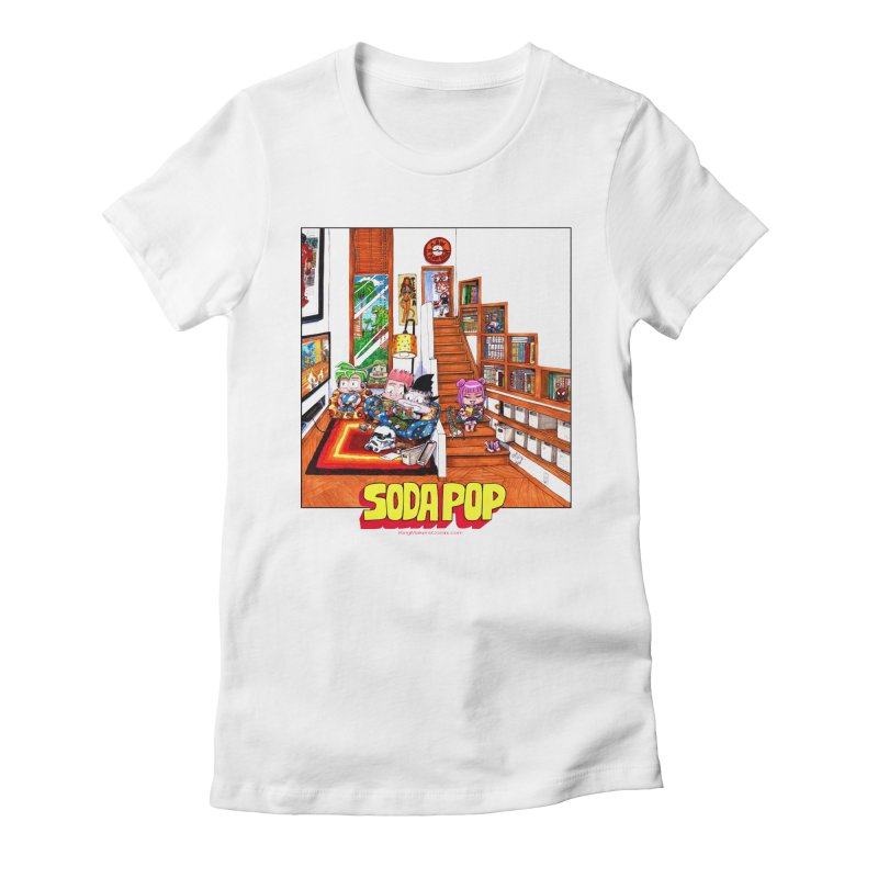 SodaPop Women's Fitted T-Shirt by KINGMAKERS's Artist Shop