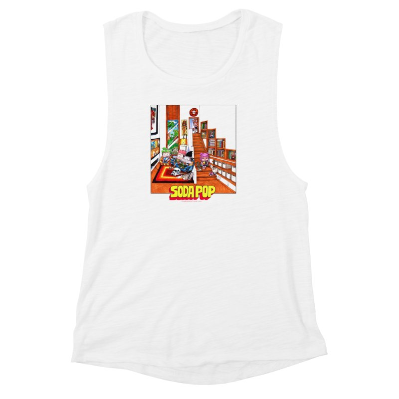 SodaPop Women's Muscle Tank by KINGMAKERS's Artist Shop