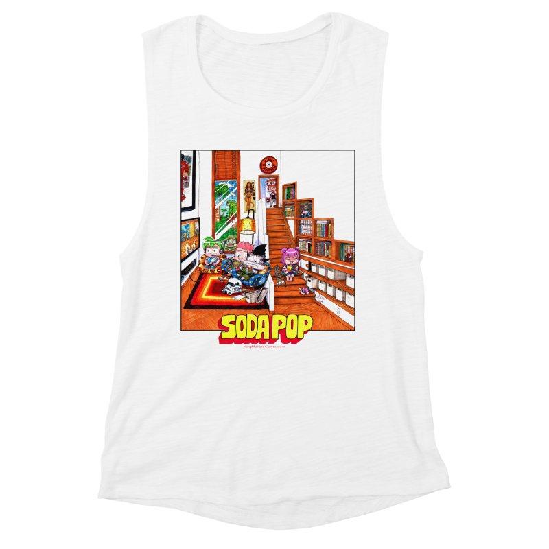 SodaPop Women's Muscle Tank by KINGMAKERS's Artist Shop