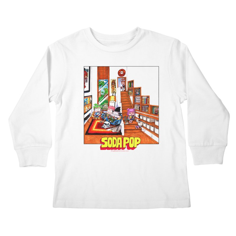 SodaPop Kids Longsleeve T-Shirt by KINGMAKERS's Artist Shop