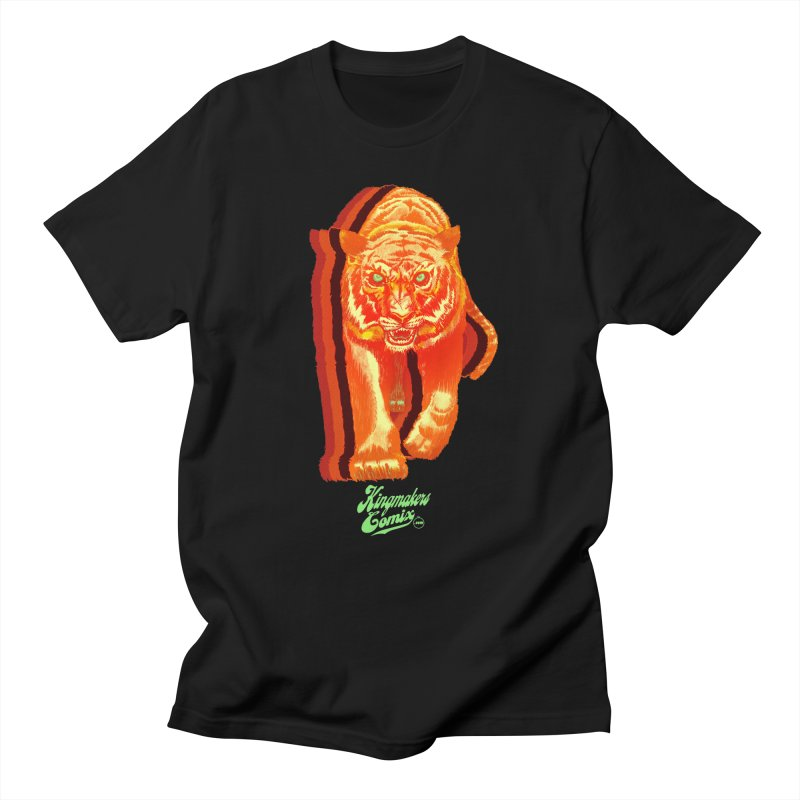 Detroit King  Men's T-Shirt by KINGMAKERS's Artist Shop