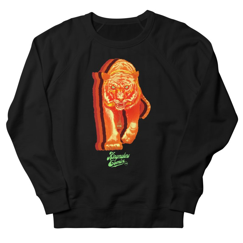 Detroit King  Men's French Terry Sweatshirt by KINGMAKERS's Artist Shop
