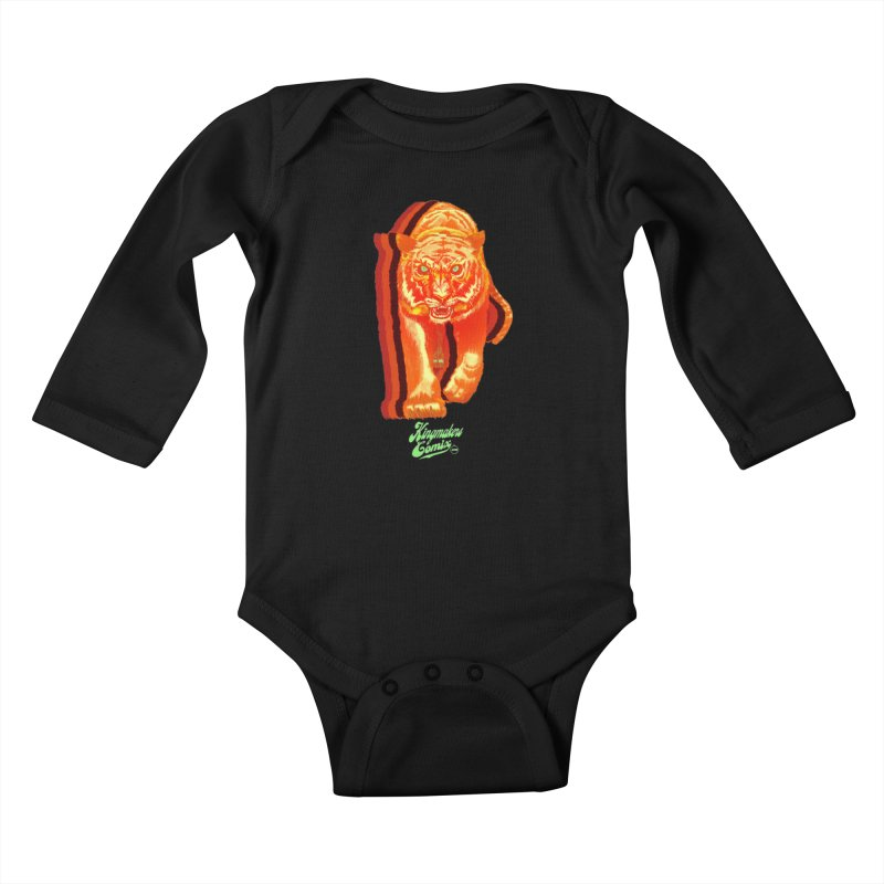 Detroit King  Kids Baby Longsleeve Bodysuit by KINGMAKERS's Artist Shop
