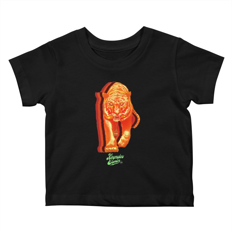 Detroit King  Kids Baby T-Shirt by KINGMAKERS's Artist Shop