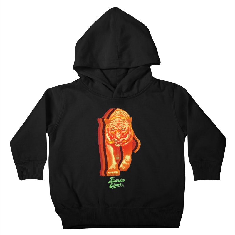 Detroit King  Kids Toddler Pullover Hoody by KINGMAKERS's Artist Shop