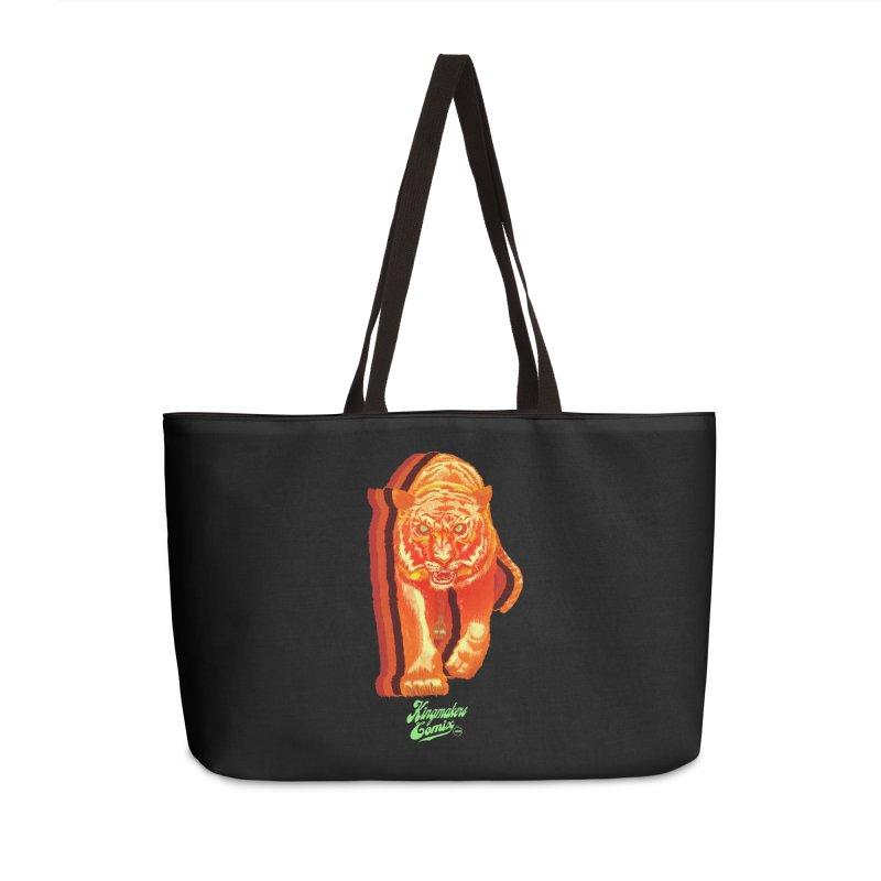 Detroit King  Accessories Weekender Bag Bag by KINGMAKERS's Artist Shop