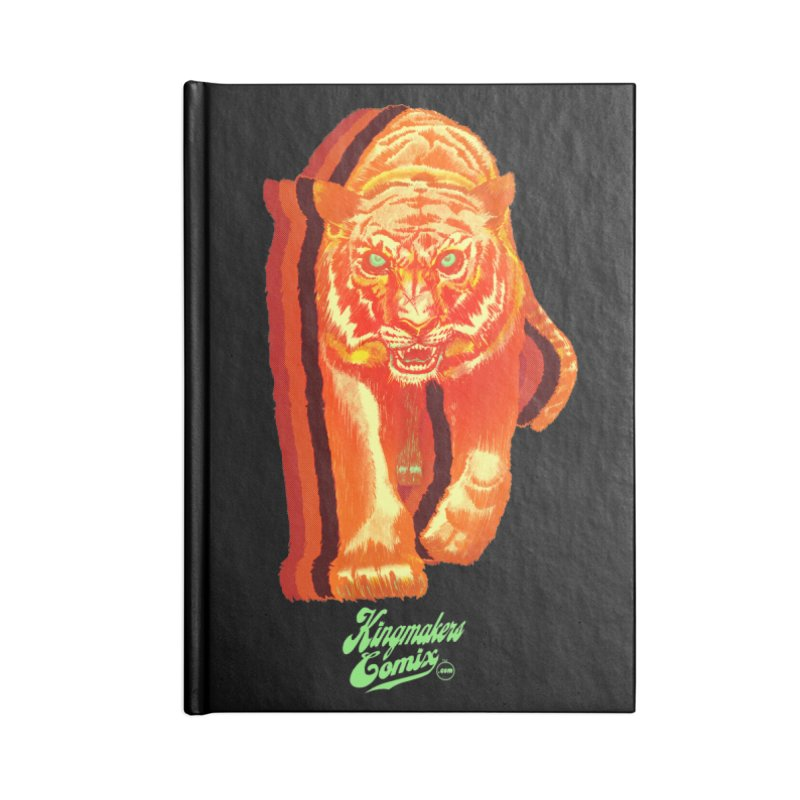 Detroit King  Accessories Lined Journal Notebook by KINGMAKERS's Artist Shop