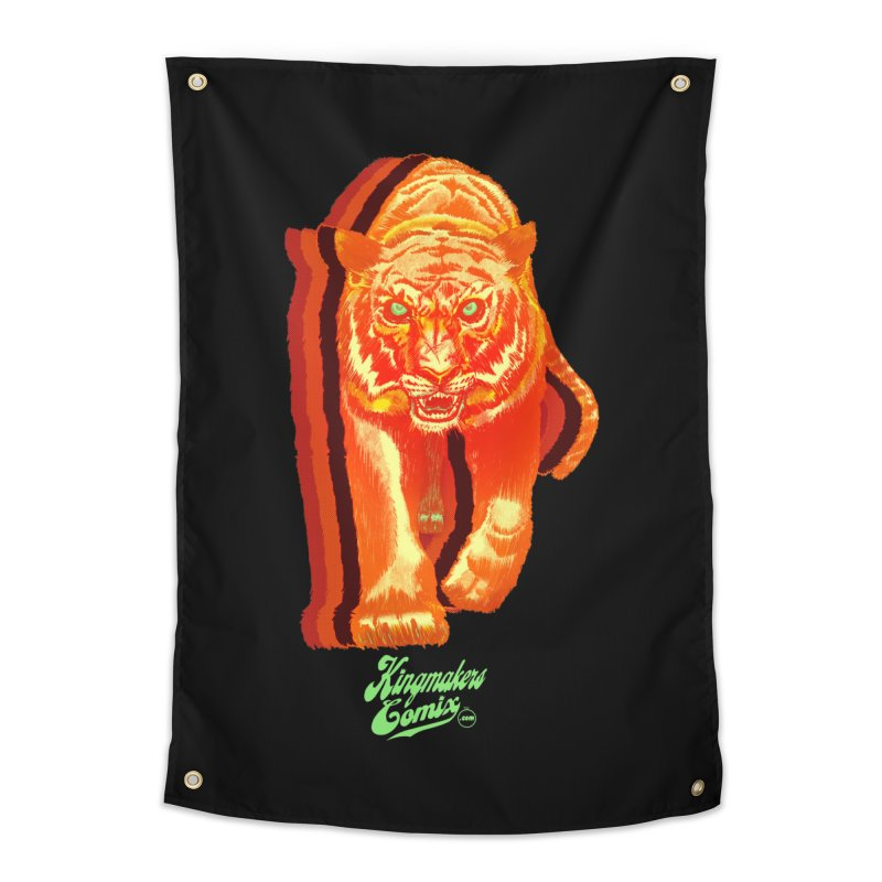 Detroit King  Home Tapestry by KINGMAKERS's Artist Shop