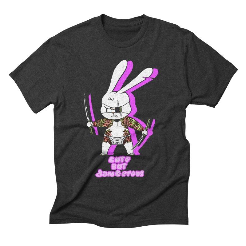 Cute but Dangerous Men's T-Shirt by KINGMAKERS's Artist Shop