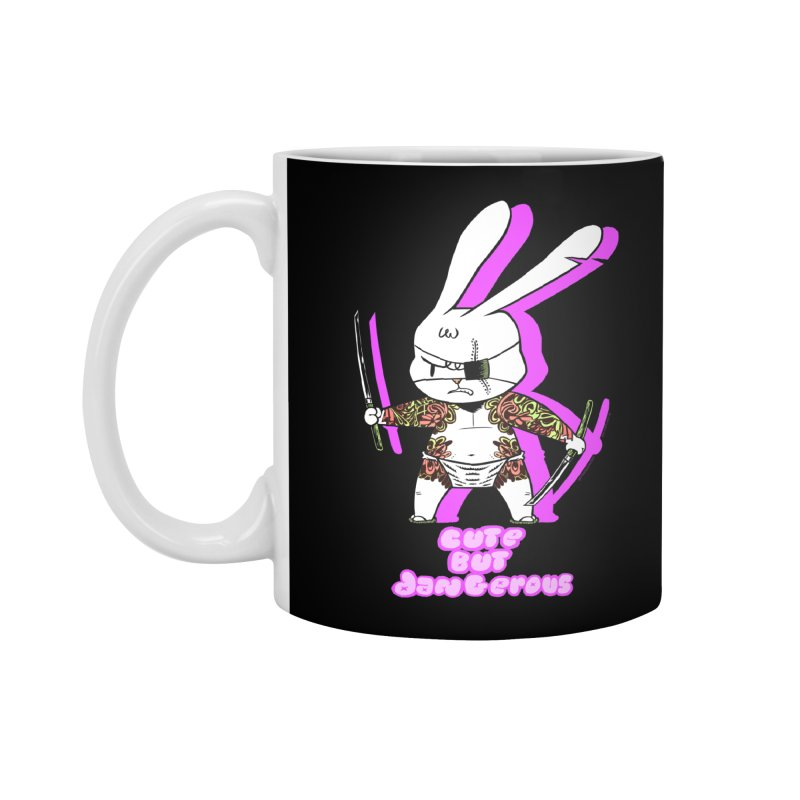 Cute but Dangerous Accessories Standard Mug by KINGMAKERS's Artist Shop