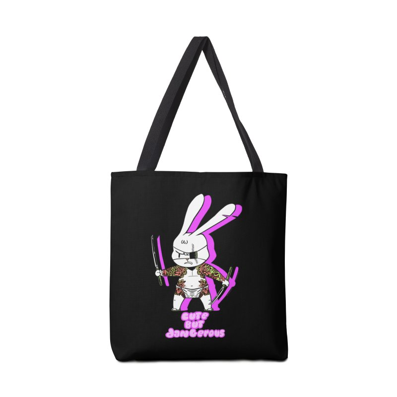 Cute but Dangerous Accessories Tote Bag Bag by KINGMAKERS's Artist Shop