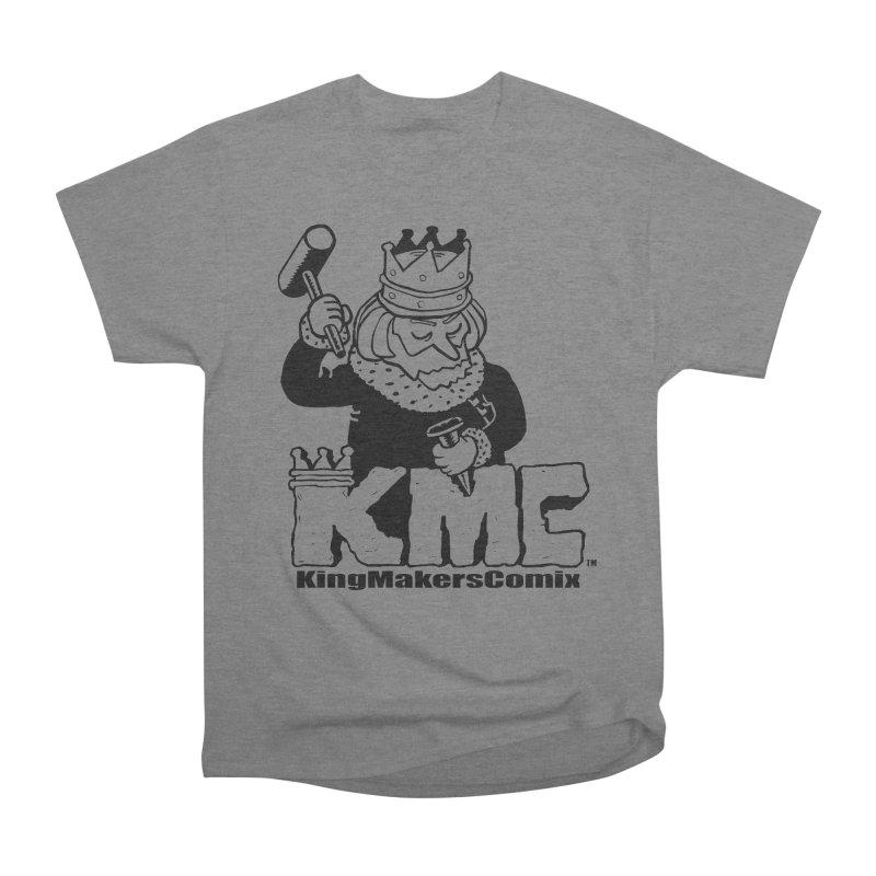 King Made Men's Heavyweight T-Shirt by KINGMAKERS's Artist Shop