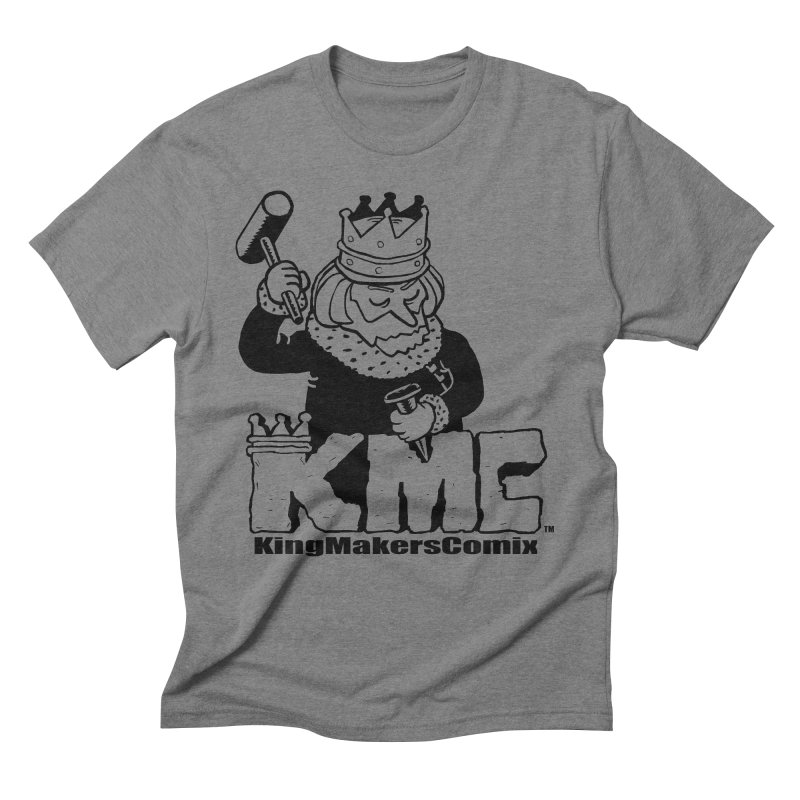 King Made Men's Triblend T-Shirt by KINGMAKERS's Artist Shop