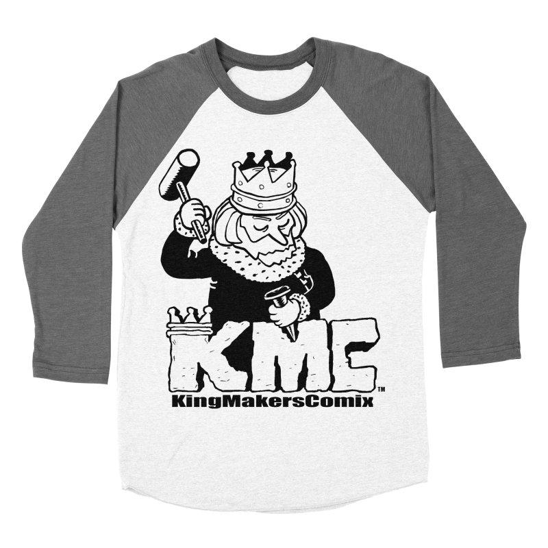 King Made Women's Baseball Triblend Longsleeve T-Shirt by KINGMAKERS's Artist Shop