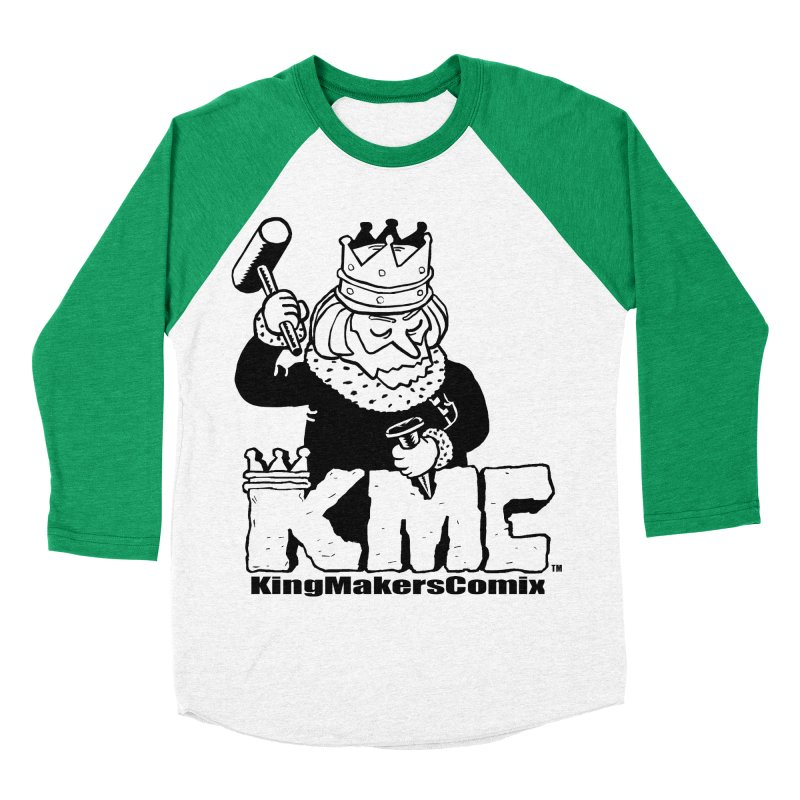 King Made Women's Baseball Triblend T-Shirt by KINGMAKERS's Artist Shop