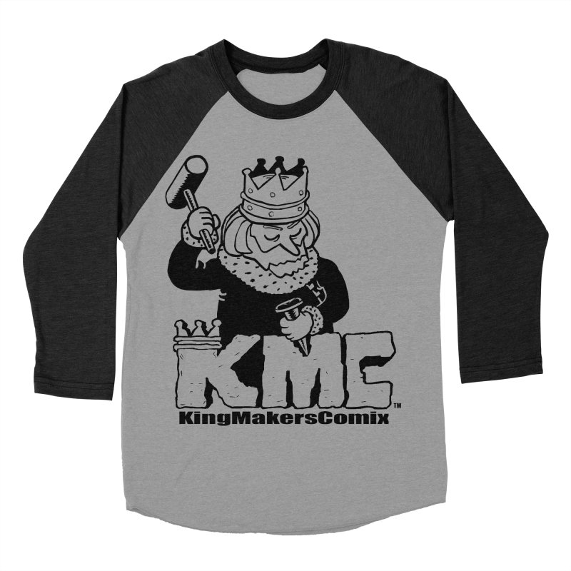 King Made Men's Baseball Triblend Longsleeve T-Shirt by KINGMAKERS's Artist Shop