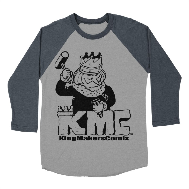 King Made Men's Baseball Triblend Longsleeve T-Shirt by KINGMAKERS's Artist Shop