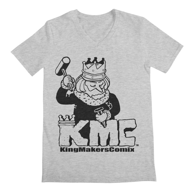 King Made Men's V-Neck by KINGMAKERS's Artist Shop