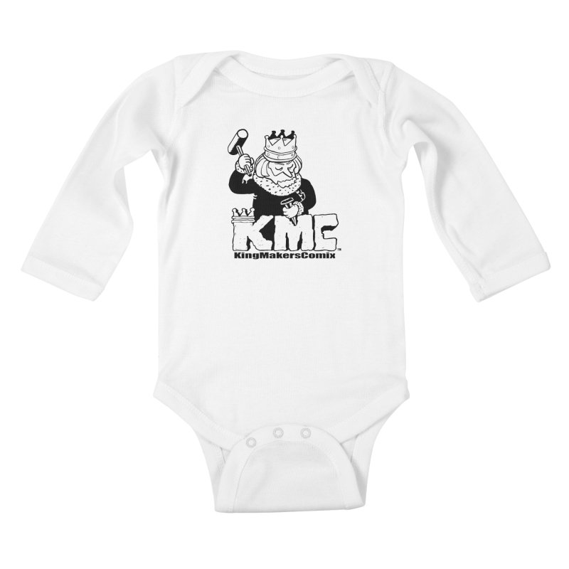 King Made Kids Baby Longsleeve Bodysuit by KINGMAKERS's Artist Shop