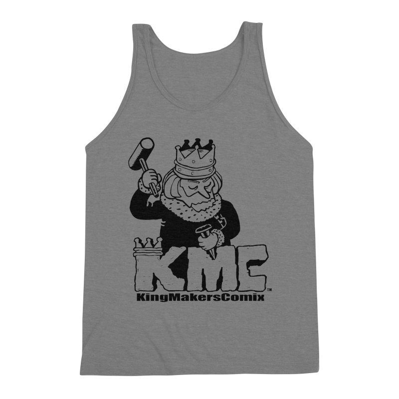 King Made Men's Triblend Tank by KINGMAKERS's Artist Shop