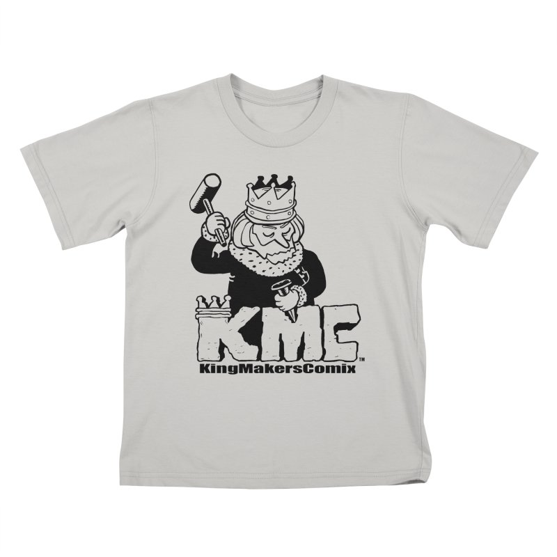King Made Kids T-shirt by KINGMAKERS's Artist Shop