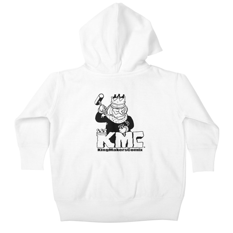 King Made Kids Baby Zip-Up Hoody by KINGMAKERS's Artist Shop