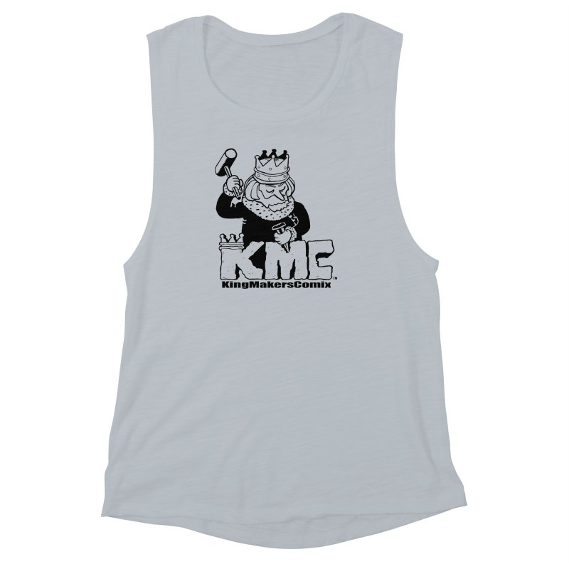 King Made Women's Muscle Tank by KINGMAKERS's Artist Shop