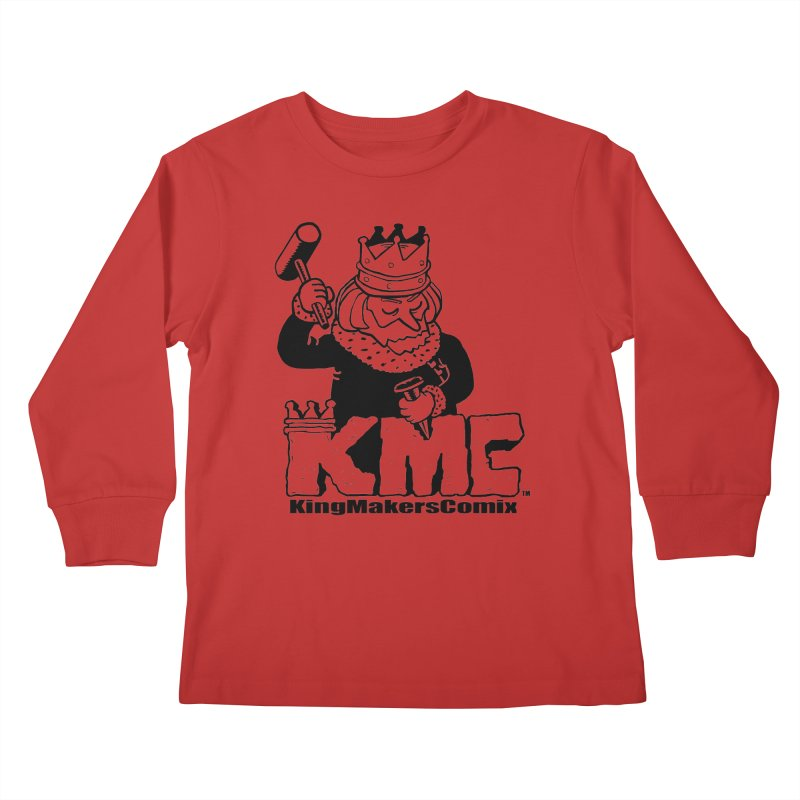 King Made Kids Longsleeve T-Shirt by KINGMAKERS's Artist Shop