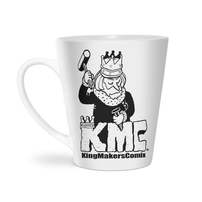 King Made Accessories Latte Mug by KINGMAKERS's Artist Shop