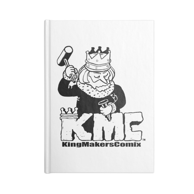 King Made Accessories Lined Journal Notebook by KINGMAKERS's Artist Shop